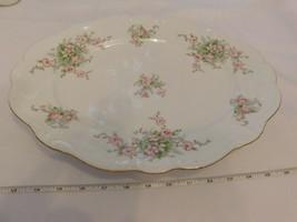 "Johann Haviland Bavaria Germany 11"" x 14.75"" Turkey Serving Platter - $32.10"
