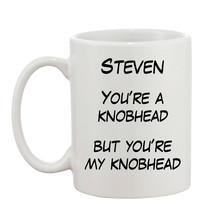 Personalised Rude Adult Funny Joke Swearing Gift Name K**BHEAD 10oz Mug  - $8.93