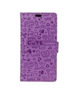 Cartoon Graffiti Pattern PU Leather Wallet Cover with Stand for OnePlus ... - $6.30
