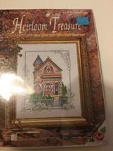 "Heirloom Treasure ""Victorian House"" Cross Stitch Kit # 5255 - New Sealed - $16.82"