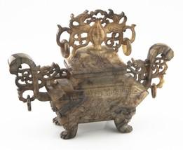 Antique Chinese Jade Phoenix Urn Incense Burner China (Han Dynasty Style... - $8,910.00