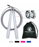 Jump Rope High Speed 9.8 Ft Adjustable Workout Skipping Rope 2 Bearing Carrying - $17.69
