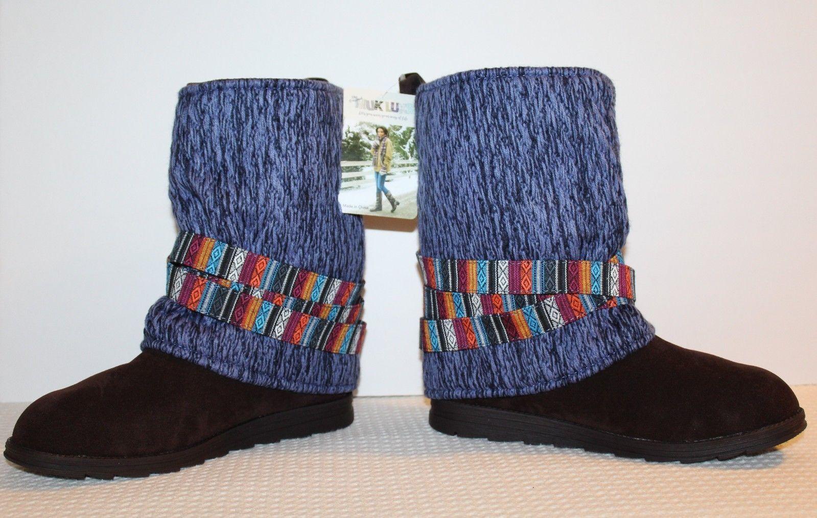 aecc191c6d NEW MUK LUKS Nikki Denim Women's Size 11 and 50 similar items