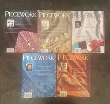 Lot of 5 PIECEWORK Magazines From 1994 - $25.00