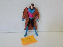 "1992 Marvel Action Figure Gambit Toy Biz 4-3/4"" Loose L133 - $6.75"
