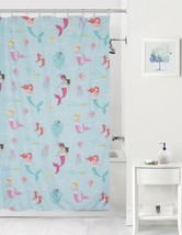 Mainstays Mermaids Ocean Theme Shower Curtain - $18.76