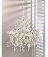 Crystal Blooms Candle Chandelier - $39.95