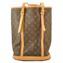 LOUIS VUITTON Monogram Bucket GM Shoulder Bag M42236 Auth 10719 **No Sticky image 2