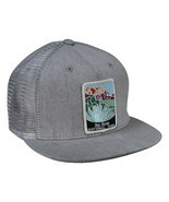 Big Bend National Park Trucker Hat by LET'S BE IRIE - Gray Denim Snapback - £17.65 GBP