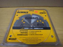 "DeWalt 7.25"" Polycrystalline Diamond Saw Blade DW3193 Hardiplank Cement Board - $49.45"