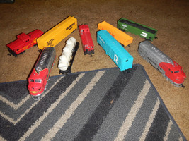 Ho Scale lot of Bachmann trains! Loco's Tested and run - $39.95