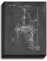 Helicopter And Controls Therefor Patent Print Chalkboard on Canvas - $39.95+