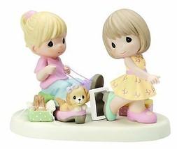 Sole Sisters Precious Moments Figurine Girls Shoe Shopping Dog NWOB  - $69.29