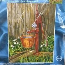 "Janlynn Needlepoint Kit 004-0783 Watering Pump12"" x 16"" New Sealed  - $14.46"