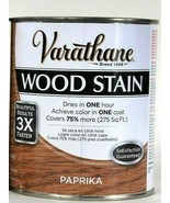 1 Can Varathane 32 Oz Ultimate Wood Stain One Coat 266175 Paprika Dry In... - $21.99