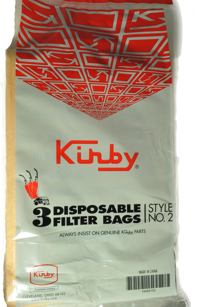 Primary image for Kirby Style 2 Heritage 1HD Vacuum Cleaner Bags 19068103