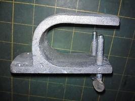 7KK78 Aluminum Clamp / Bracket From Laundry Tub Switch, Good Condition - $11.77