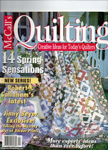 April 2001/McCall's Quilting/Preowned Craft Magazine - $3.99