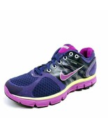 Nike Womens Lunarglide 2 Flywire Running Shoes Purple 407647-561 Low Top... - $18.47