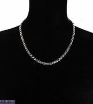 "David Yurman 925 Sterling Silver 14K 585 Yellow Gold Wheat Chain 20.00"" Necklace - $899.98"