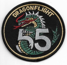 Us Army Dragon Flight 55 Patch - $11.87