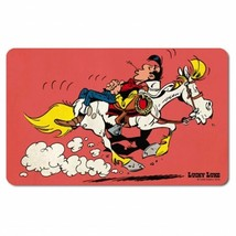 Lucky Luke Riding On Jolly Jumper Cutting board