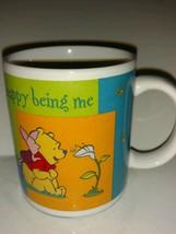 Winnie the Pooh Piglet Walt Disney Collectible Coffee Mug Happy Being Me - 8 oz - $22.76