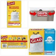 Glad OdorShield Tall Kitchen Drawstring Trash Bags Febreze Fresh Clean 1... - $27.40