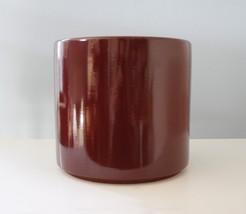 Vintage Gainey Ceramics AC-12 Planter Burgundy Mid Century Modern Archit... - $217.64