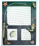 Fisherman decorative screen door  - $7.50
