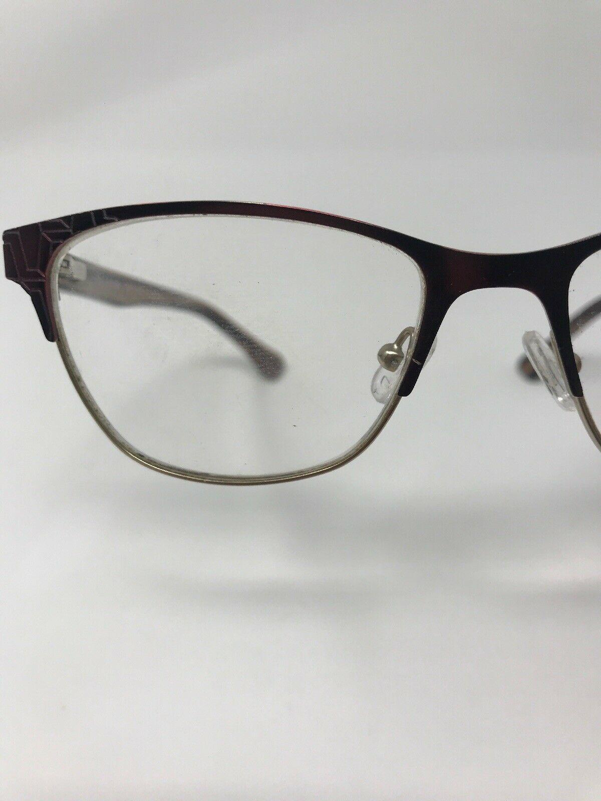 CALVIN KLEIN Eyeglasses Frame CK5413 604 52-17-135 Burgundy/Gold HG76