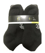 Champion Performance Duo Dry Youth Low Cut Socks 6 pairs Black - $9.50