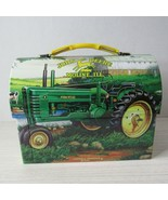 "Collectible Advertising John Deere 2001 Gummi Lunch Tin Box . 7"" x 3.5"" ... - $15.73"