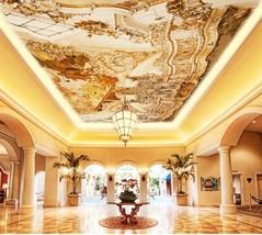 3D Ancient Castle Ceiling WallPaper Murals Wall Print Decal Deco AJ WALL... - $34.47+