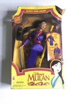 Disney Princess Mulan Secret Hero Mulan Figure Doll Mattel 1997 New in Box  - $44.50