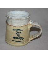 Inn of Sedona Arizona Pottery Mug Handcrafted Signed Tan - $9.85