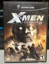 X-Men Legends II Rise of the Apocalypse (GameCube, 2005) Box and Game On... - $10.74