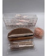 MAC  Cosmetics Snowball  Mini Brush Kit Rose Gold - With Box Authentic - $17.81