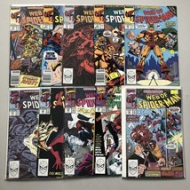 Lot of 20 Web of Spider-Man (1985 1st Series) from #56-75 - $63.36