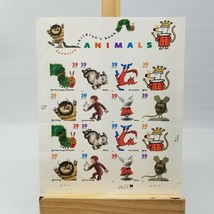 Favorite Children's Book Animals USPS Sheet of 16 Stamps 2005 39 Cent - $12.75