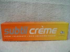 SUBTIL Creme Professional Hair Coloring Cream With Epaline ~ 2 fl oz ~ U Pick!!! image 1