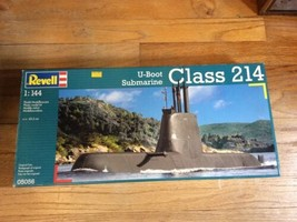 RARE NEW Revell 1/144 U-Boat Submarine Class 214 Model Kit 05056 (Sealed) - $69.95