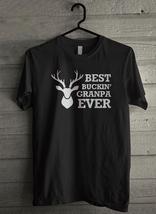 Bucking Grandpa Ever Funny Deer Men's T-Shirt - Custom (137) - $19.12+