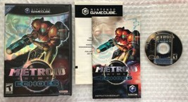 ☆ Metroid Prime 2 Echoes (Nintendo GameCube, 2004) Complete in Case Game... - $34.50
