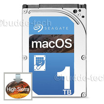"1TB SSHD 2.5"" Drive Macbook Pro+Mac Mini A1278 A1286 A1297 High Sierra 2... - $101.95"