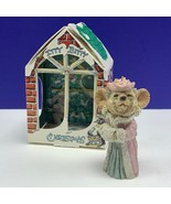 Itty Bitty Christmas ornament united design mouse mice critter 1986 gran... - $24.70