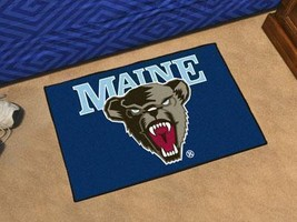 NCAA -  Maine Starter Rug 19 inch x30 inch   - $34.99