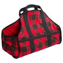 DII CAMZ37646 Cotton Heavy Duty Canvas Firewood Log Carrier Tote Bag, 22... - $45.87