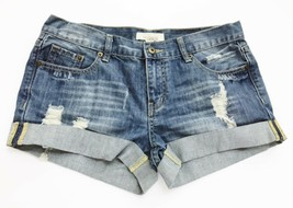 Forever 21 Shorts Distressed Cuffed Blue Jean Daisy Dukes size 28 - $12.84