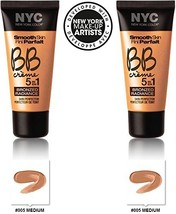 NYC New York Color BB Creme Foundation Bronze Radiance #005 MEDIUM (1 fl oz) EAC - $19.59